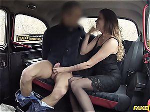 Backseat unwrapping leads to internal cumshot