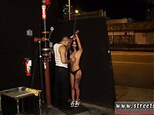 slapped lady victim and sadism & masochism puny, tatted, and very pretty, Gina Valentina is the