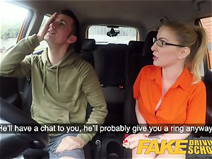 fake Driving college exam failure leads to super-fucking-hot lovemaking