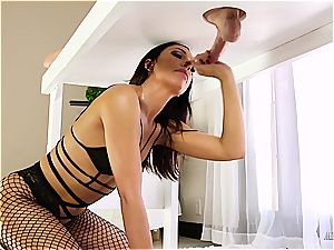 ultra-kinky masseuse riding her client