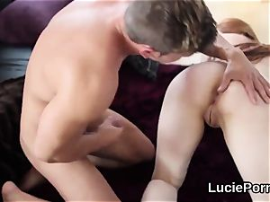 fledgling girl/girl cuties get their pinkish cooters slurped and splayed