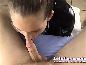 taunting and throating YOUR prick in my catsuit