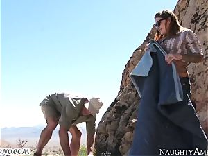 super-naughty tart gets screwed in the mountains with escort