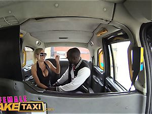 woman faux cab red-hot sweat-soaked poking pays cab fare
