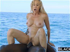 BLACKED Brandi enjoy hankers big black cock Vacation