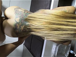 Yurizan Beltran bashed rigid after caught with the flogged fluid and dancing