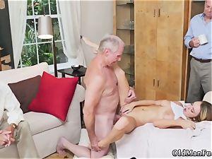 Japan elderly boy Molly Earns Her Keep