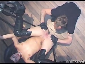 HARMONY VISION assfuck pummeling Alicia Rhodes with strapon