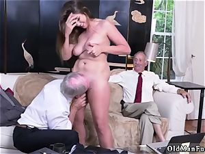 daddy pal s associate inexperienced gonzo Ivy makes an impression with her immense milk cans and ass