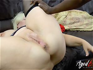 AgedLovE Lacey Starr interracial gonzo anal