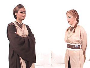 Jedi skin Diamond showcases Penny Pax the intensity