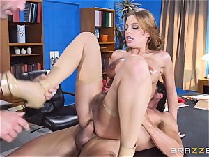 Britney Amber getting group screwed