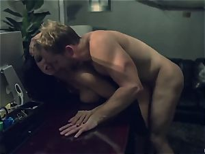 Horror fetish porno. The scanty housewife Romi Rain was ambushed