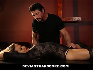 DeviantHardcore - curvaceous chinese Gets twat Electroshocked