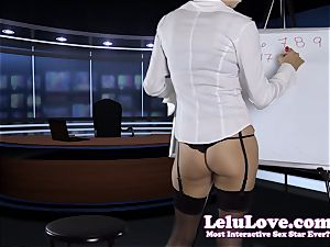 I was the secretary but now I'm YOUR femdom chief
