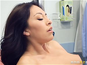 Kara fake medical twat check up