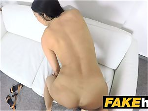 faux Agent mexican cougar deep throats and plumbs