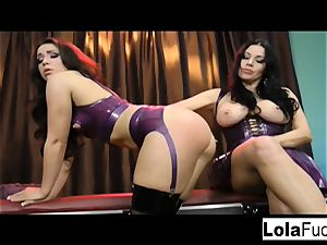 Lola gets predominated and cropped